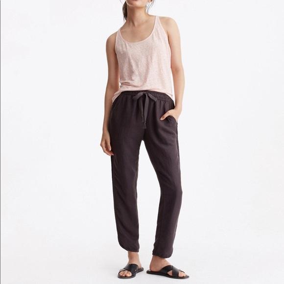 55e5f6a94116 Lou   Grey Pants - Lou   Grey Brushed Linen Drawstring Pants